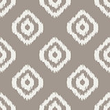 Ikat classic seamless vector pattern.