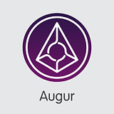 Augur - Virtual Currency Web Icon.
