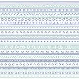 Doodle seamless pattern. Boho style