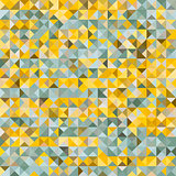 Multicolor polygonal background consists of squares divided into triangles