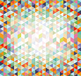 colorful pattern elements, illustration