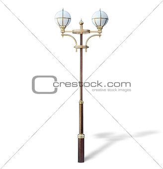 Modern park lamp