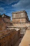 Majestic ruins Maya city in Uxmal,Mexico.
