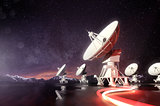 Radio Telescopes Searching for Astronomical Objects