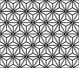 Seamless triangles and diamonds pattern. Geometric texture.