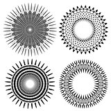 Set of Circle Geometric Ornaments
