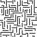 Seamless labyrinth pattern. Memphis group style