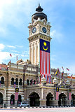 Sultan Abdul Samad Building with clock-tower