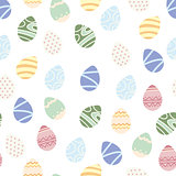 Happy easter background. easter egg. seamless endless vector pattern for design