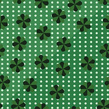 Clover St. Patricks Day pattern. Seamless