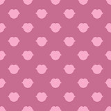 Lips seamless texture bright pink color