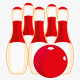 Instruments for game of bowling