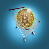 cryptocurrency and shopping