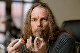 Man with an Opiod Pill