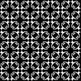 Seamless abstract vintage black white pattern
