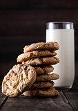 Sweet caramel oatmeeal gluten free cookies