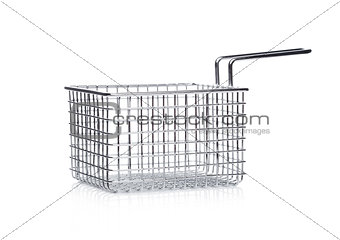 Stainless steel basket for french fries snack