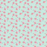 Seamless snails pattern