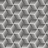 Seamless pattern with lines lattice. Vector abstract geometric background. Stylish structure