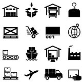 Logistics, supply chain, distribution, warehousing and shipping