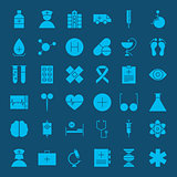 Healthcare Glyph Web Icons