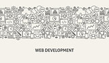 Web Development Banner Concept