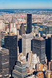 Midtown Manhattan cityscape