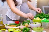 Healthy pregnancy concept