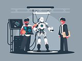 Presentation of modern robot