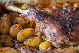 Lamb Shoulder Potatoes
