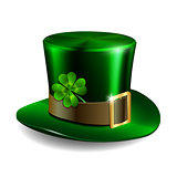 St Patricks day hat. Vector