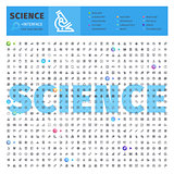 Science Thematic Collection of Line Icons