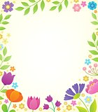 Flower topic background 1