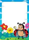 Ladybug theme frame 2