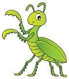 Praying mantis theme image 1
