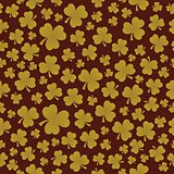 Three leaf clover seamless background 7