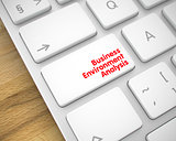 Business Environment Analysis on PC Key. 3d