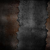 Grunge rusty metal background