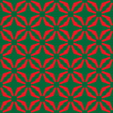 Seamless abstract red green pattern