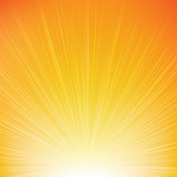 Sunburst Orange Background