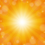 Sunburst Yellow Background