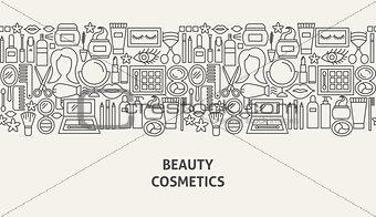 Cosmetics Banner Concept