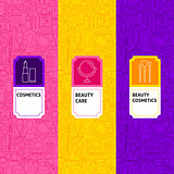 Line Cosmetics Package Labels