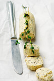 Butter with a herb   for sandwiches and steack