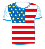 t-shirt flag USA