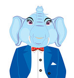 Elephant in suit