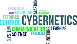 word cloud - cybernetics