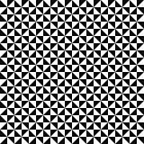Vector mosaic pattern - black and white seamless background