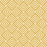 Vector golden background. Seamless geometric pattern