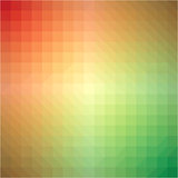 Light rainbow triangle gradient background